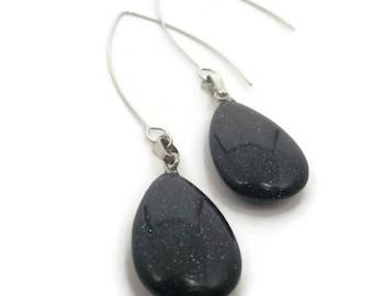 Bluestone Drop Earrings