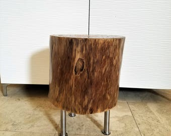 Tree Stump Table   Log Table   Side Table   Reclaimed Wood Table   Pine Wood