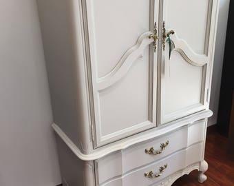 Tall Fog Grey 2 Door/2 Drawer Dresser - 7/7