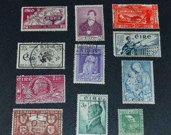 Ireland 32 stamps many old and rare