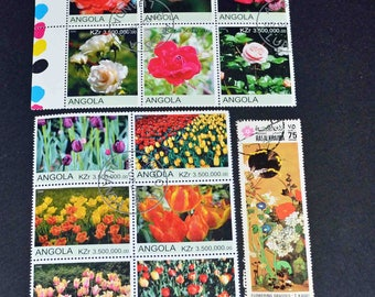 50 flowers and plants from around the world some mint B113