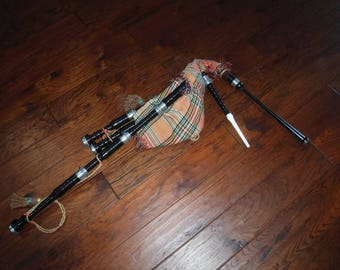 Bagpipes unknow maker and origin