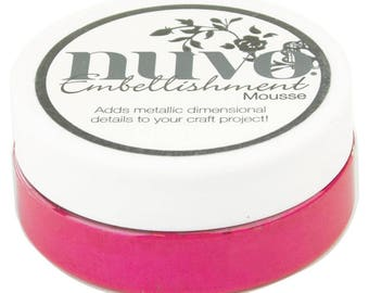 Nuvo Embellishment Mousse Pink Flambe
