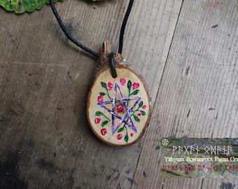 Fairy pentacle pendant
