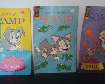 Vintage Walt Disney Scamp Comics (3)