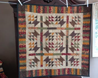 Country Baskets Decorator quilt 0720-01