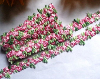 """embroidered 1/2"""" inch wide Venise Lace trim select length"""