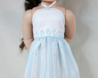 Easter dress to fit 16inch A girl for all time dolls