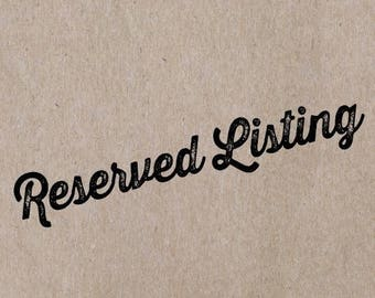mintenko- Reserved Listing