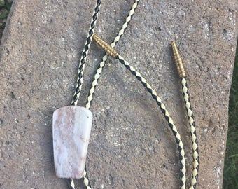 Vintage Stone Bolo Tie