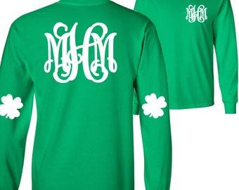 Monogrammed Shamrock T-Shirt