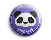 Merit Badge - Lion, Pinback button, Kindness, Children badges, Illustration. Honour badges