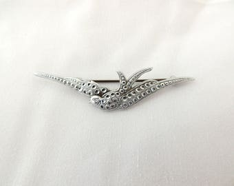 Vintage Swallow Brooch Bird Swift Brooch