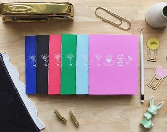 Scandinacian Notebook Pack (Set of 6)