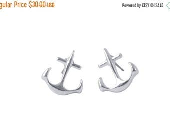 60% OFF Sale ANCHOR studs >> inspire << yourself to be the amazing awesome person you already are inside <<  nautical sorority ocean sail sa