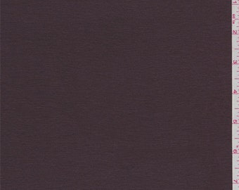 Chocolate Brown Rayon Jersey Knit, Fabric By The Yard