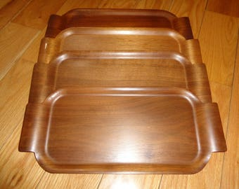 Retro 4 Piece TOASTMASTER HOSPITALITY SET, Made of Genuine Plywood for the McGraw Electric Company Waters-Center Division in Minneapolis, Mn