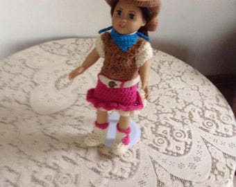 "Lilly's Cowgirl Outfit 18"" Doll"