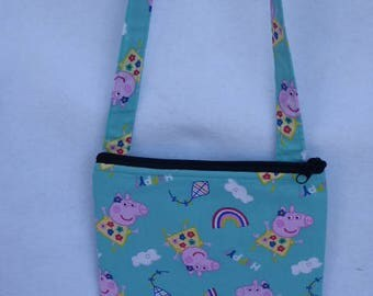 Kid's Crossbody Bag:Peppa