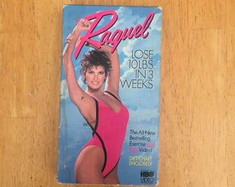 Raquel Lose 10 lbs in 3 weeks - RAQUEL WELCH (VHS)