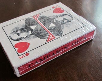 Campaign Deck Playing Cards 1980s Reprint of Grover Cleveland 1888 Presidential Campaign Deck