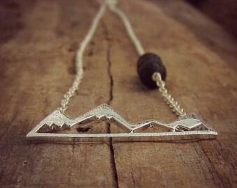Lava Stone Diffuser Necklace • Lava Stone Jewelry • Essential Oil Necklace • Aromatherapy Jewelry • Nature Jewelry • Lava Stone Jewelry