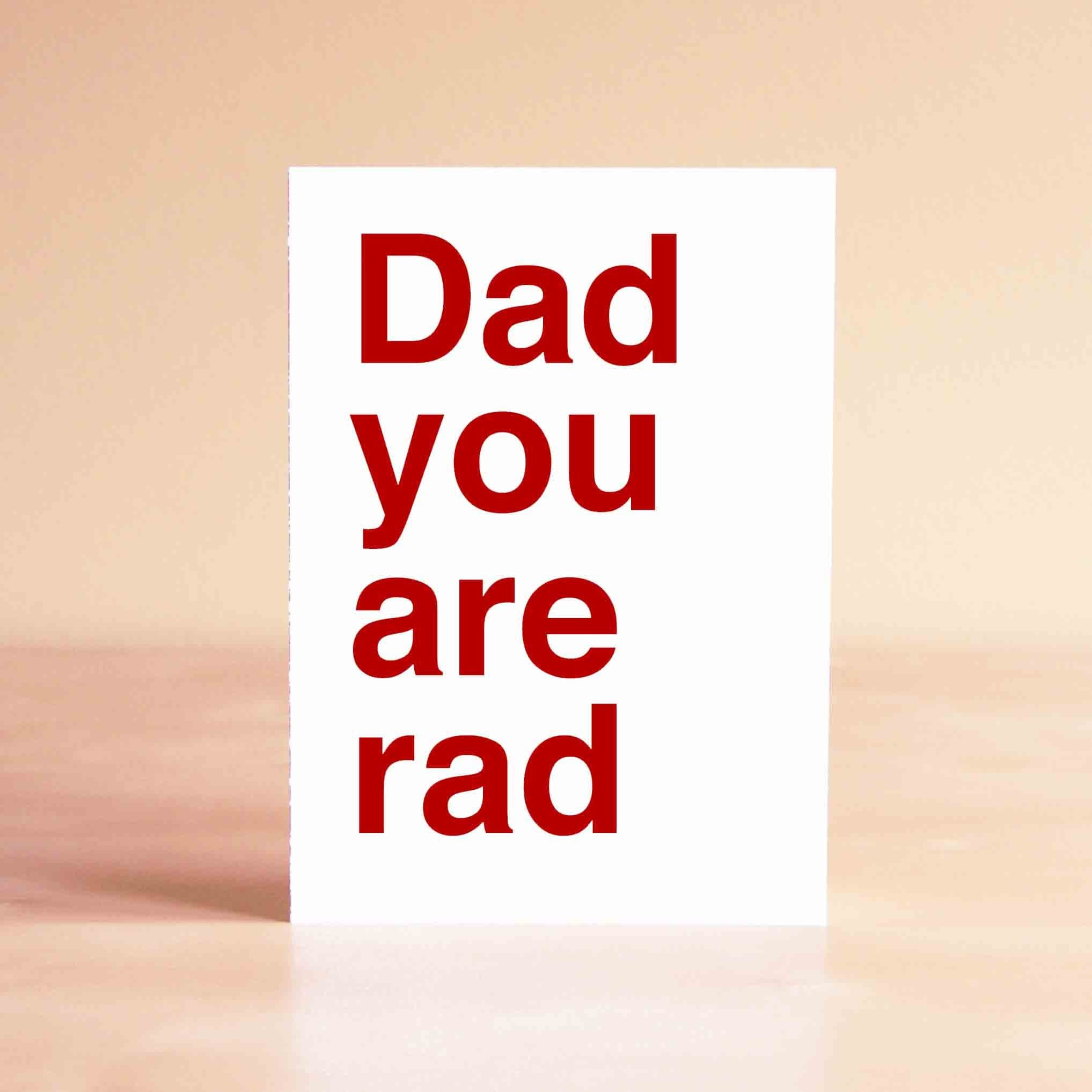 Funny Father s Day Card Funny Dad Birthday Card Birthday Card