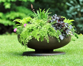 Handmade 30 inch Planter, FirePit Fire Pits FirePits Garden Planter Steel Fire Pit Metal Fire Pit Fire Pit Bowl Outdoor Fire Pit