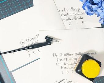 Custom Envelope Calligraphy