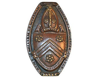 Manners Maketh the Man 1912 Door Knocker Winchester College
