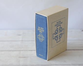The New Jerusalem Bible By Henry Wansbrough 1985, Hardcover In Original Box Sleeve