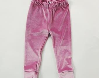 PINK VELVET Leggings - Baby & Toddler Leggings