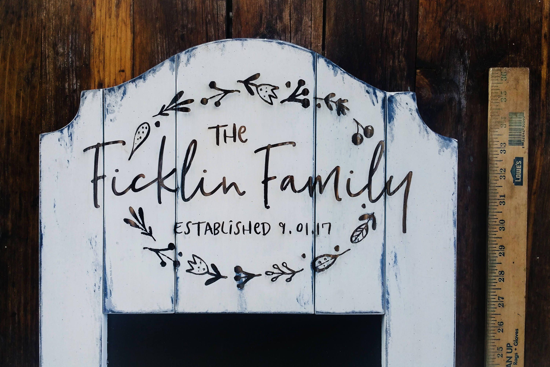 Rustic Kitchen Chalkboard / New Homeowner Gift / Realtor Gift ...