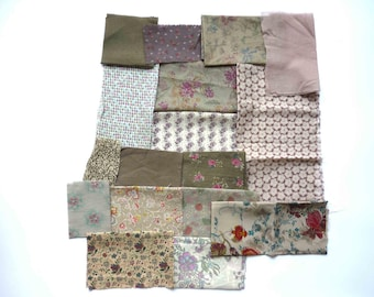 set of fabrics for patchwork 217 coupons