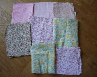 set of fabrics for patchwork 195 coupons