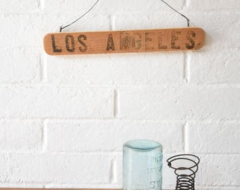 Los Angeles Crate Signs