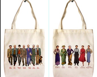 Famous Psychology Researchers Tote bag  Psychology tote bag