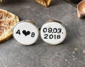 Custom List for Annie, A Piece of Personalized Cuff Link