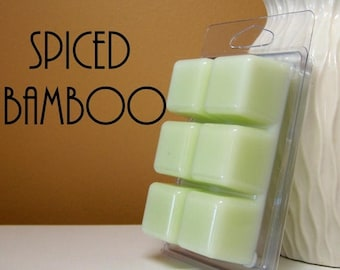 ON SALE - Spiced Bamboo Scented Wax Melts