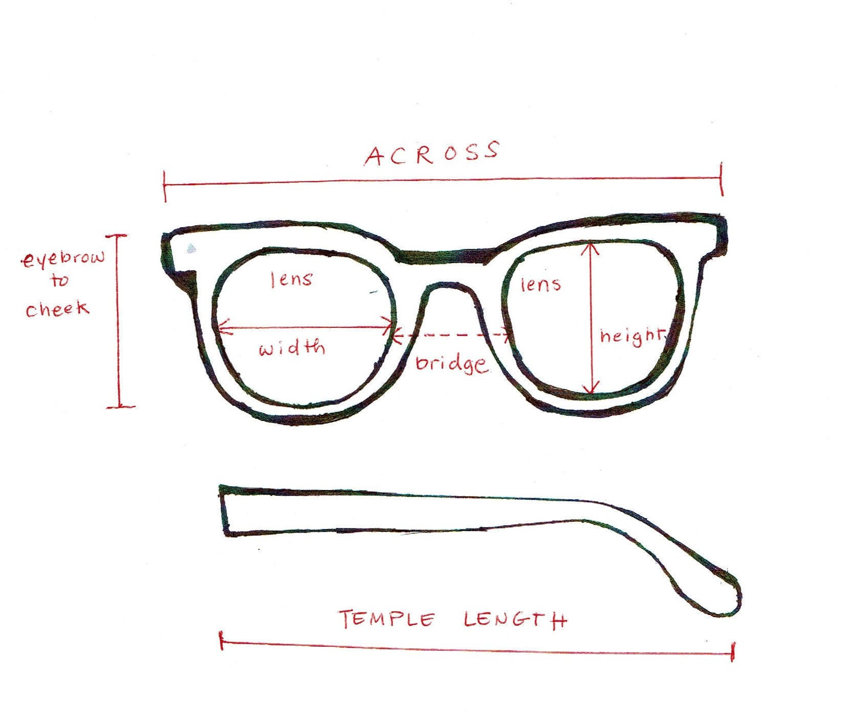 Vintage 1960\'s Eyeglasses mother Of Pearl Octagon Frames New Old ...