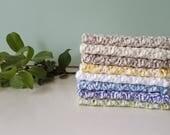 Small Crochet Washcloth, 100% Cotton, Dishcloth, Reusable, Ecofriendly, Handmade