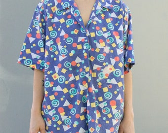 90s button up