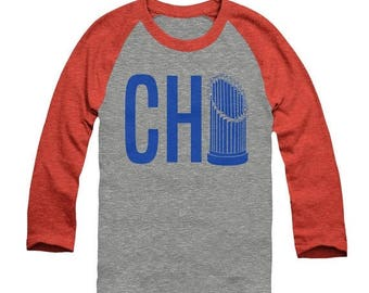 End of Summer SALE Chicago Cubs Shirt - Chicago Baseball - Chicago Shirt - Unisex Sizing - Vintage Print - North Side - 3 color options - Ra