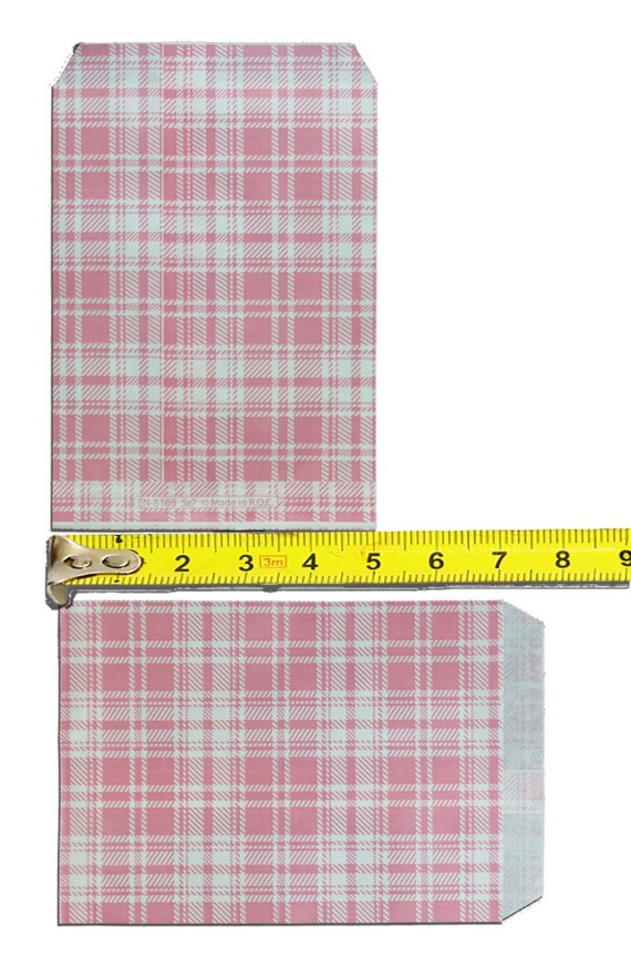 100pack 5x7 Quot Combo Blue Green Pink Purple Yellow Plaid