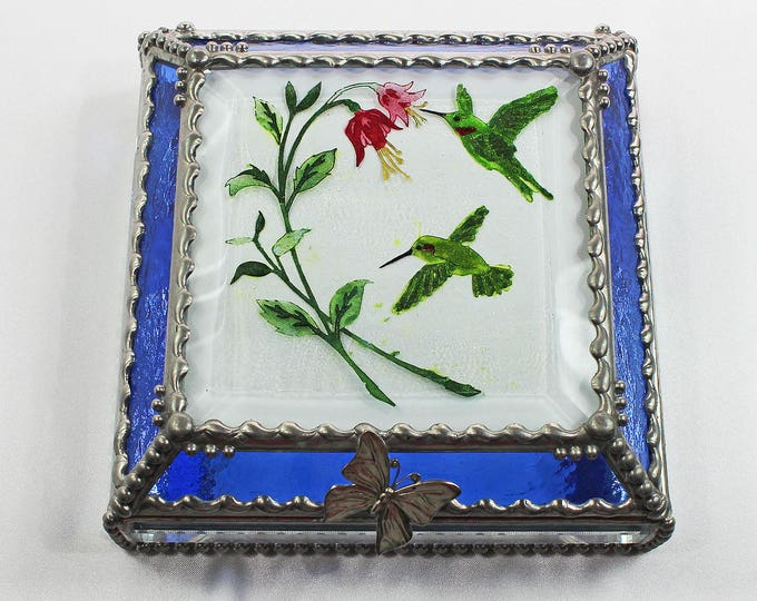 Hummingbird Fuchsia  - Treasure Box