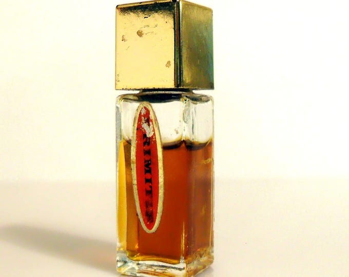 Vintage 1960s Primitif by Max Factor 3/16 oz Pure Parfum Miniature Mini Bottle PERFUME