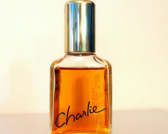 Vintage Perfume 1980s Charlie by Revlon 1 oz Concentrated Cologne Splash Women's Fragrance