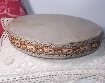 Drum Shaker Instrument ??, Vintage Shaker Instrument, Vintage Instrument, Asian Instrument, Movie Prop