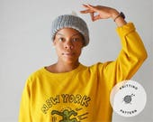 The Brooklyn Watchmen Hat Pattern | Knitting Tutorial