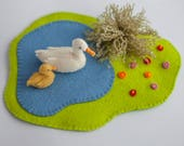 Duck with Play mat Pattern